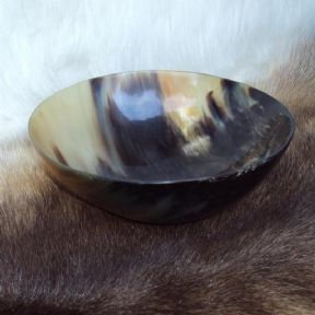 Medieval Cow Horn Bowl